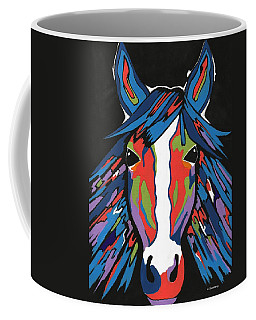 Spirited Horse Coffee Mug