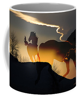 Coffee Mug featuring the photograph Spirits In The Sky by Ericamaxine Price
