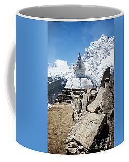 Coffee Mug featuring the photograph Spiritual Mountains by Scott Kemper