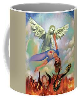 Spiritual Warfare Of Heart And Mind Coffee Mug