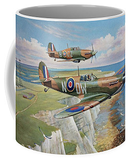 Spitfire And Hurricane 1940 Coffee Mug