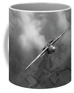 Spitfire Pr Xix Ps915 Looping Bw Version Coffee Mug