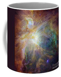 Spitzer And Hubble Create Colorful Masterpiece Coffee Mug