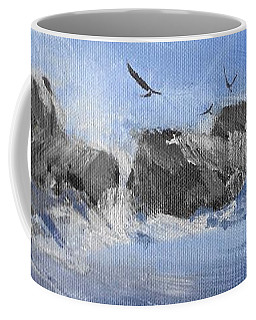 Splash Coffee Mug by Helen Harris