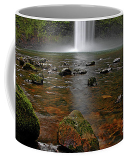Coffee Mug featuring the photograph Splash by Nick Boren