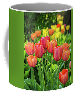 Coffee Mug featuring the photograph Splash Of April Color by Bill Pevlor