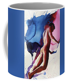 Splash Of Blue Coffee Mug