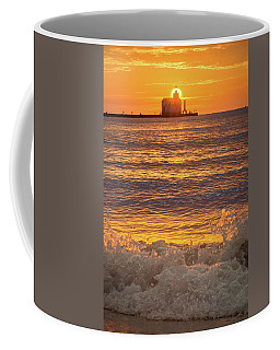 Coffee Mug featuring the photograph Splash Of Light by Bill Pevlor
