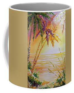 Splash Palm Coffee Mug