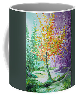 Splash Tree Coffee Mug