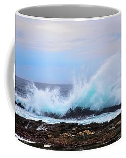 Splashing Waves Of Tsitsikamma Coffee Mug by Jeff at JSJ Photography