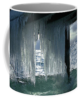Splash...storm Sunset Coffee Mug by Sean Sarsfield