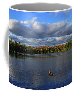Splendid Autumn View Panoramic Coffee Mug