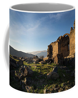 Splendid Ruins Of St. Grigor Church In Karashamb, Armenia Coffee Mug