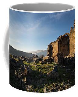 Splendid Ruins Of St. Grigor Church In Karashamb, Armenia Coffee Mug