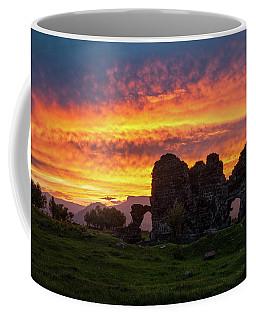Splendid Ruins Of Tormak Church During Gorgeous Sunset, Armenia Coffee Mug