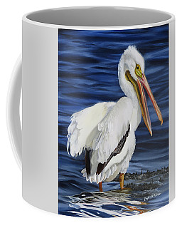 Coffee Mug featuring the painting Splendor At Half Moon Island by Phyllis Beiser