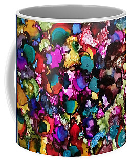 Coffee Mug featuring the painting Splendor by Denise Tomasura