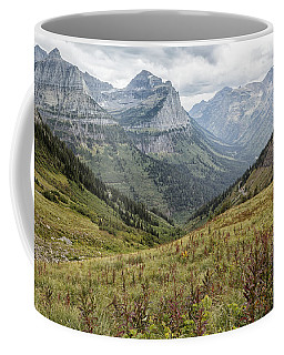Coffee Mug featuring the photograph Splendor From Highline Trail - Glacier by Belinda Greb