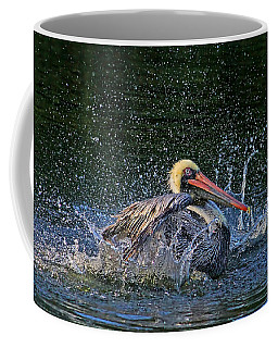 Coffee Mug featuring the photograph Splish Splash by HH Photography of Florida