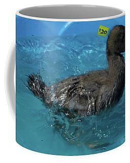 Coffee Mug featuring the photograph Splish Splash I'm Taking A Bath by Donna Brown