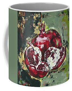 Split Pomegranate Coffee Mug