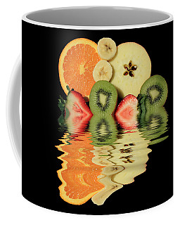 Split Reflections Coffee Mug