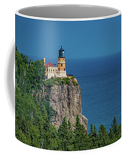 Split Rock Lighthouse View Coffee Mug