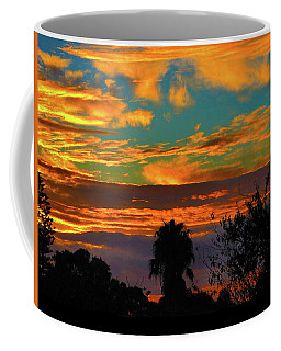 Coffee Mug featuring the photograph Split Sunset by Mark Blauhoefer