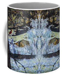 Split The Falls Coffee Mug