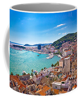 Split Waterfront And Marjan Hill View Coffee Mug