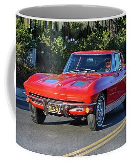 Split Window Arriving Coffee Mug
