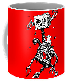 Sponge Head Coffee Mug