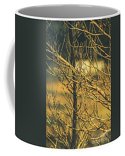 Spooky Country House Obscured By Vegetation  Coffee Mug