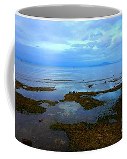 Spooky Morning Tide Receded From Beach Coffee Mug