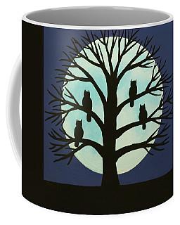 Spooky Owl Tree Coffee Mug