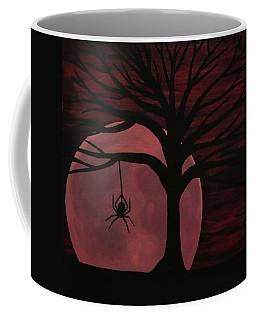 Spooky Spider Tree Coffee Mug