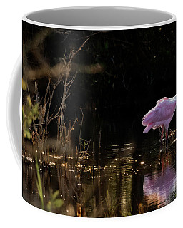 Spoonbill Fishing For Supper Coffee Mug