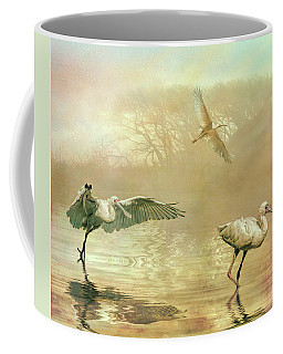 Spoonbill Morning Coffee Mug