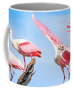 Spoonbill Party Coffee Mug by Mark Andrew Thomas