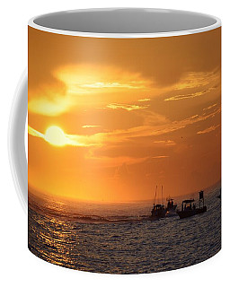 Sportfishermen Head Offshore Coffee Mug