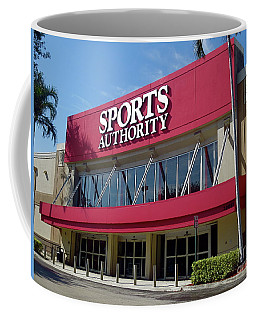 Sports Authority Building. Florida Coffee Mug