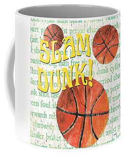 Sports Fan Basketball Coffee Mug