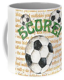Sports Fan Soccer Coffee Mug