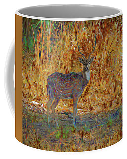 Spotted Deer, Artistic Conversion Coffee Mug