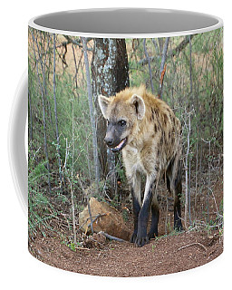 Spotted Hyena Coffee Mug by Myrna Bradshaw