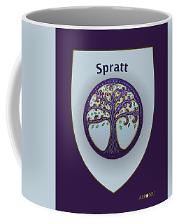 Spratt Family Crest Coffee Mug