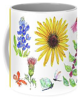 Spring 2017 Medley Watercolor Art By Kmcelwaine Coffee Mug