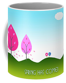 Spring As Come Card Coffee Mug