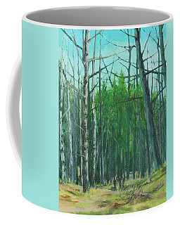 Spring Aspens Coffee Mug